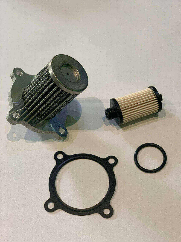 Заменить фильтр грубой очистки Kia/Hyundai в колбе LPG газ