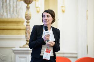 Выступление Сессиль Нуаригат на VIII международном LPG-форуме