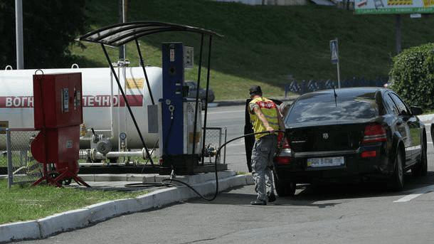 Автозаправка газовая