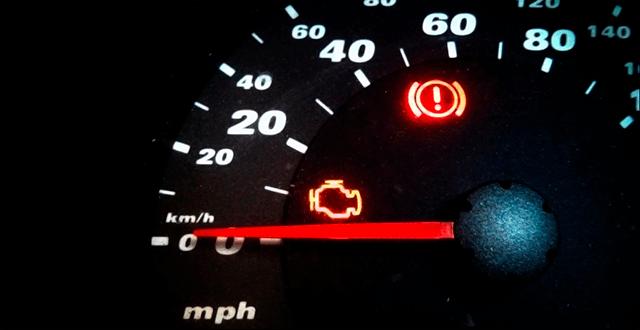 Почему включается индикатор Check Engine